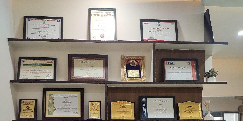 awards Best dentist in Mohali
