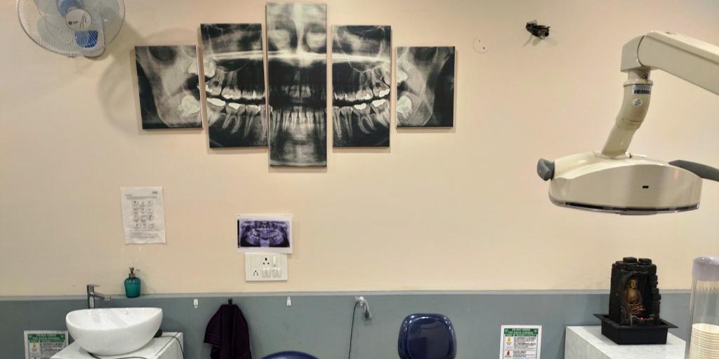 Dental opg in dental clinic in mohali operatory